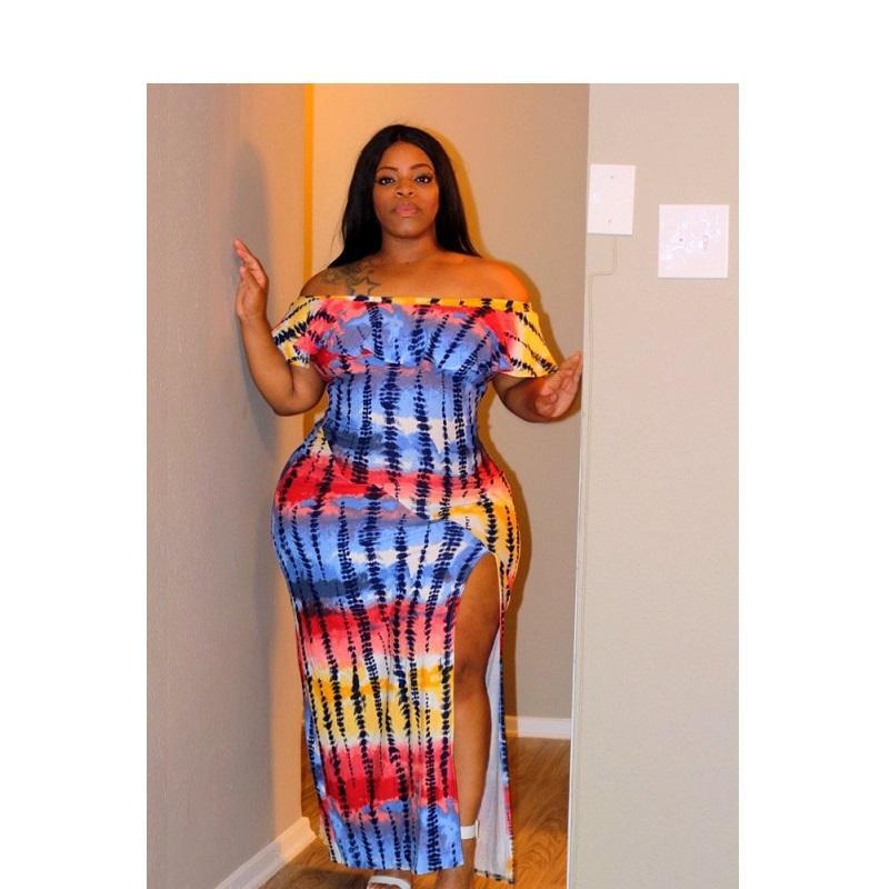 Plus Size Maxi Dresses For Summer  - colors color