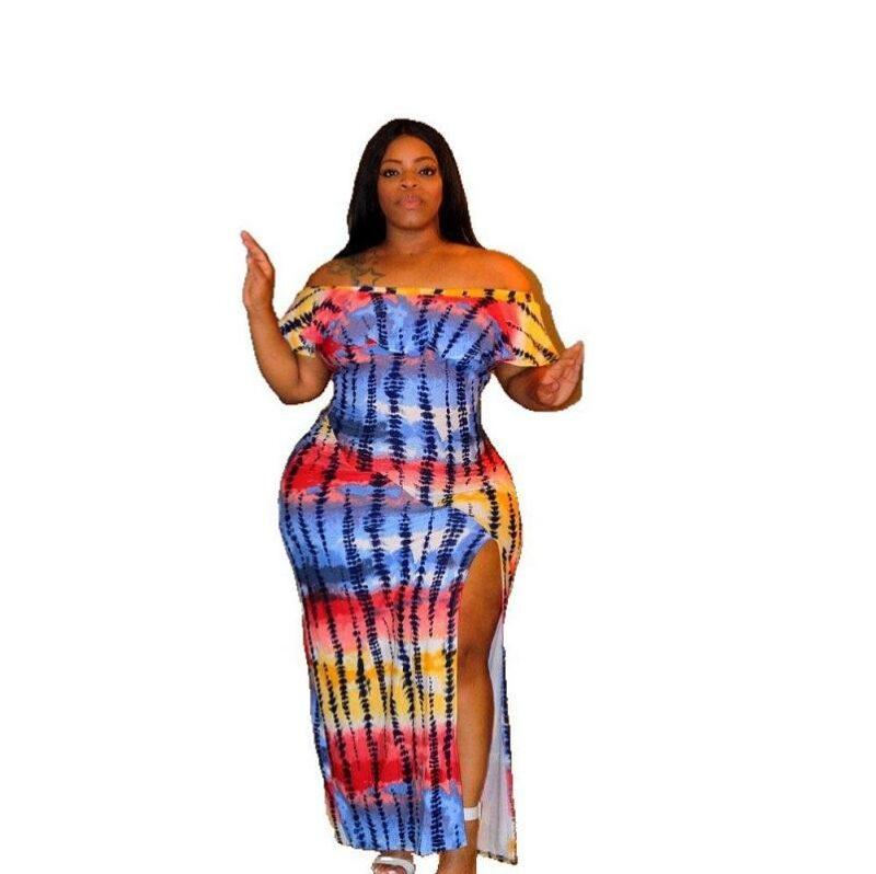 Plus Size Maxi Dresses For Summer  - colors main picture