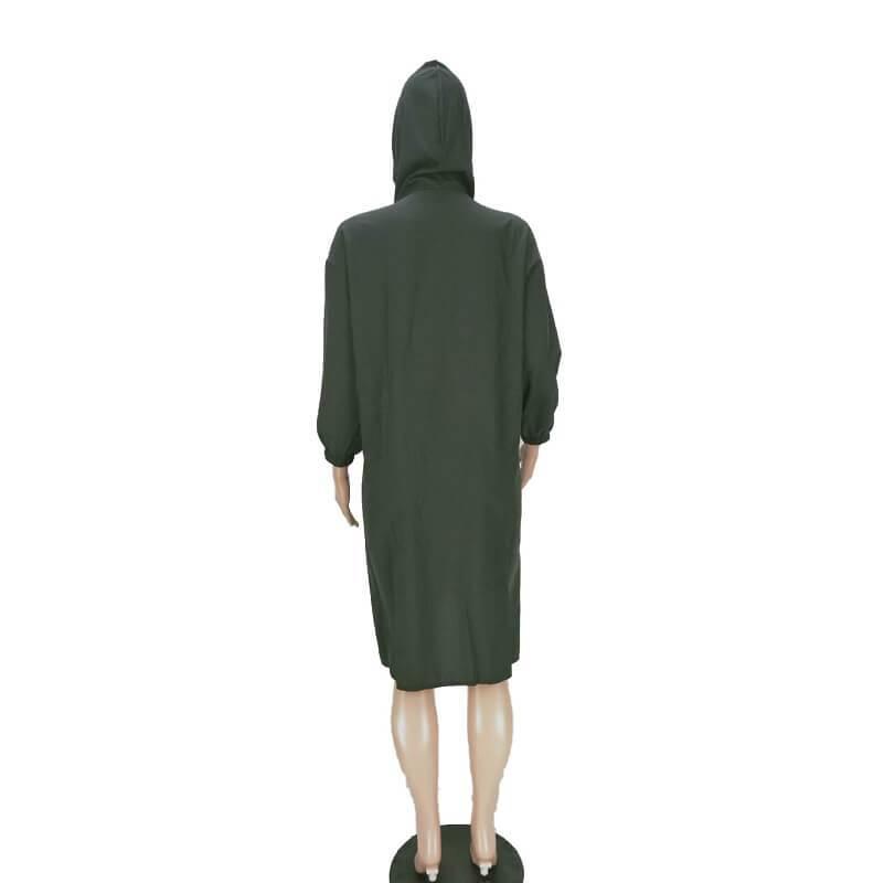 Dresses For Larger Ladies - black back