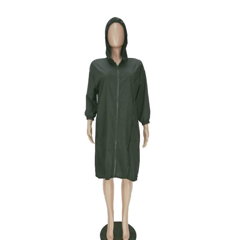Dresses For Larger Ladies - black positive