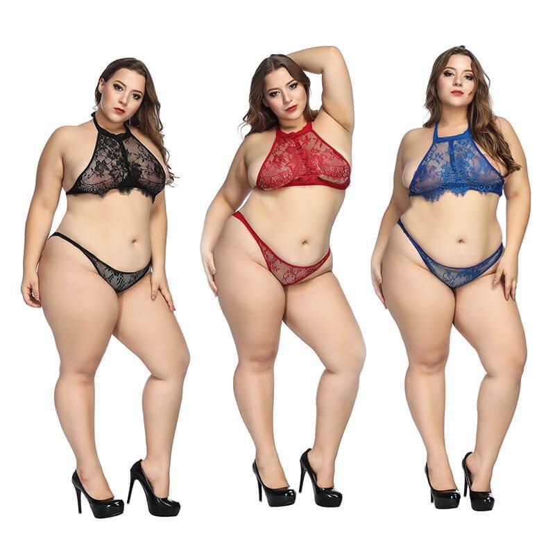 Plus Size Super Sexy Lingerie - three colors