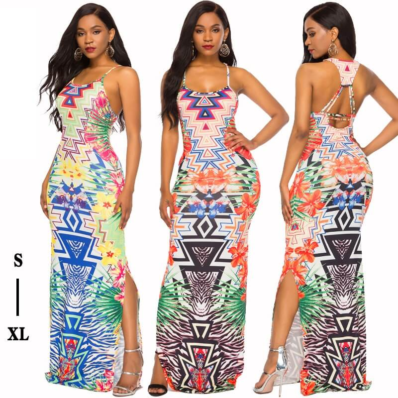 Printed Dress - main picture