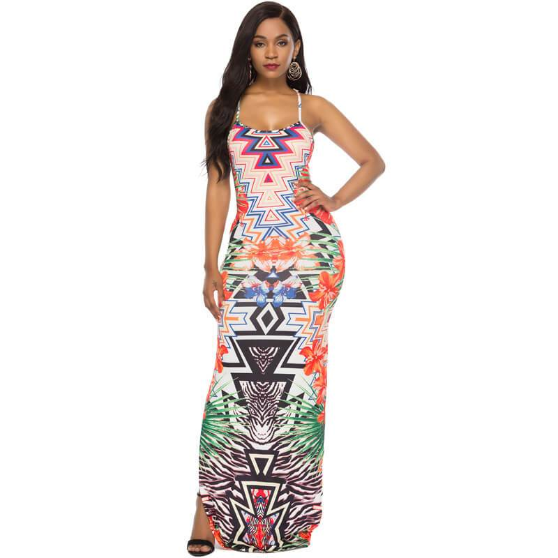 Printed Dress -  Chic Lover