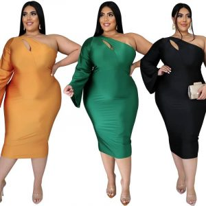 Plus Size Dresses To Wear With Sleeves - main picture
