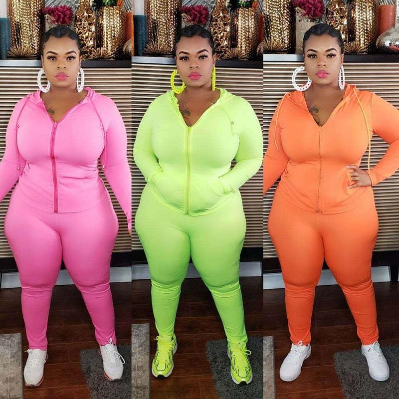 Plus Size Sport 6-color Casual Wear - three colors