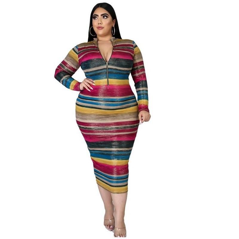 Cheap Plus Size Maxi Dresses Under 20 - colorful positive