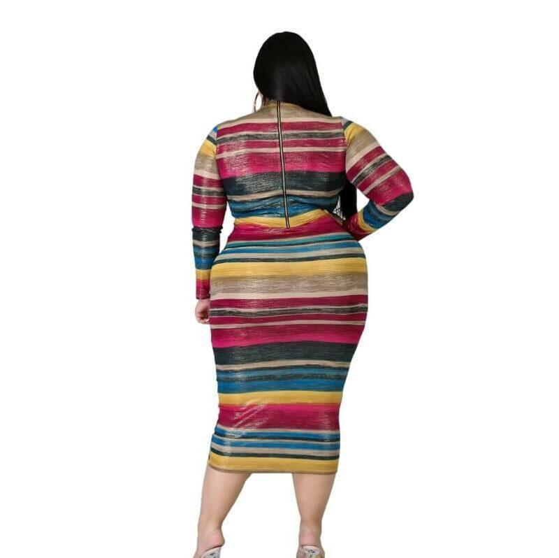 Cheap Plus Size Maxi Dresses Under 20 - colorful back