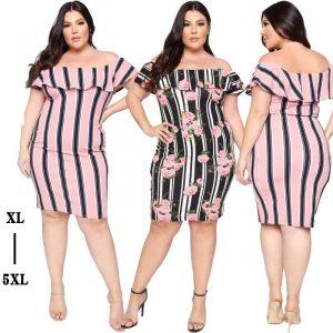 Plus Size Cape Dress - three colors