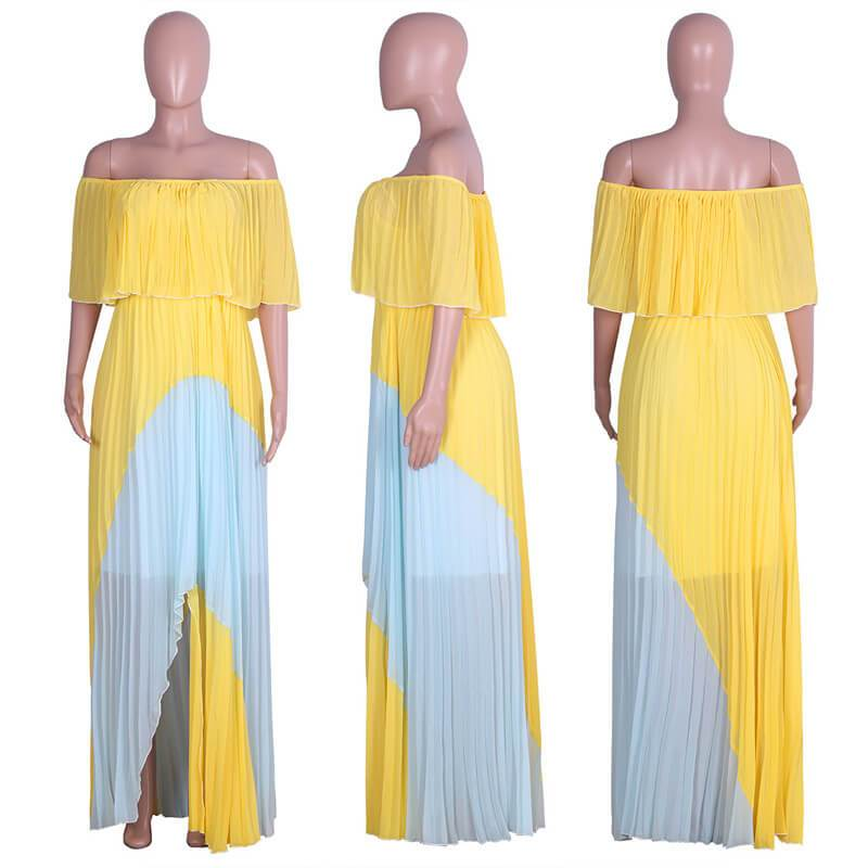 Yellow Dresses  - Yellow model picture