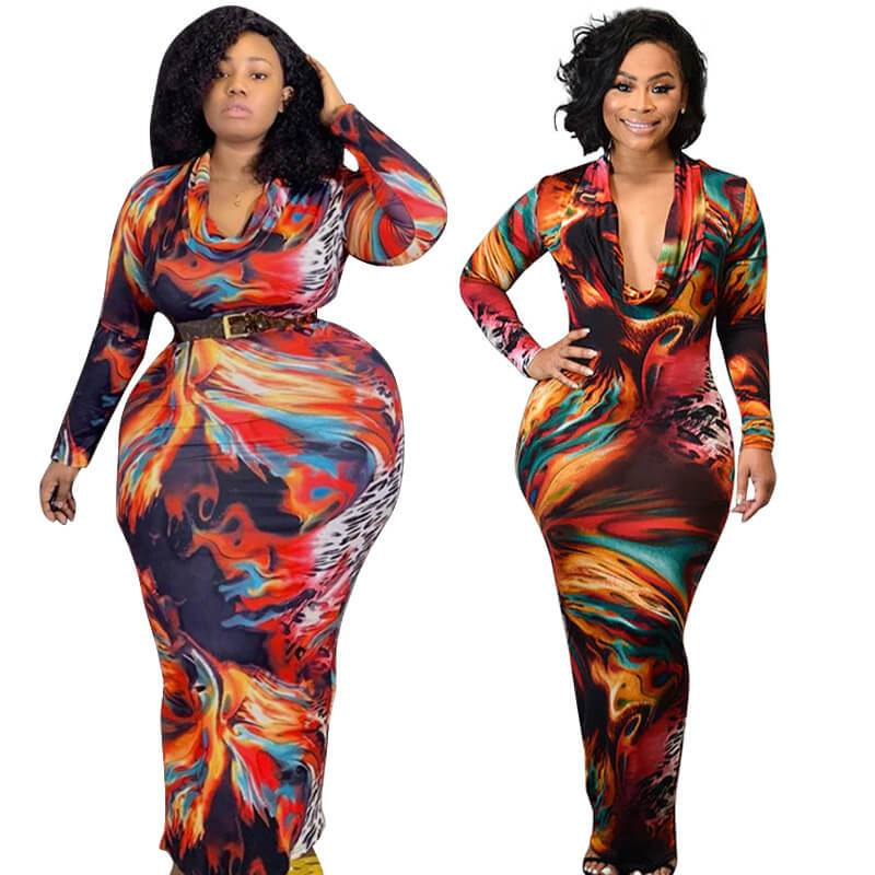 Plus Size Overall Dress - main picture