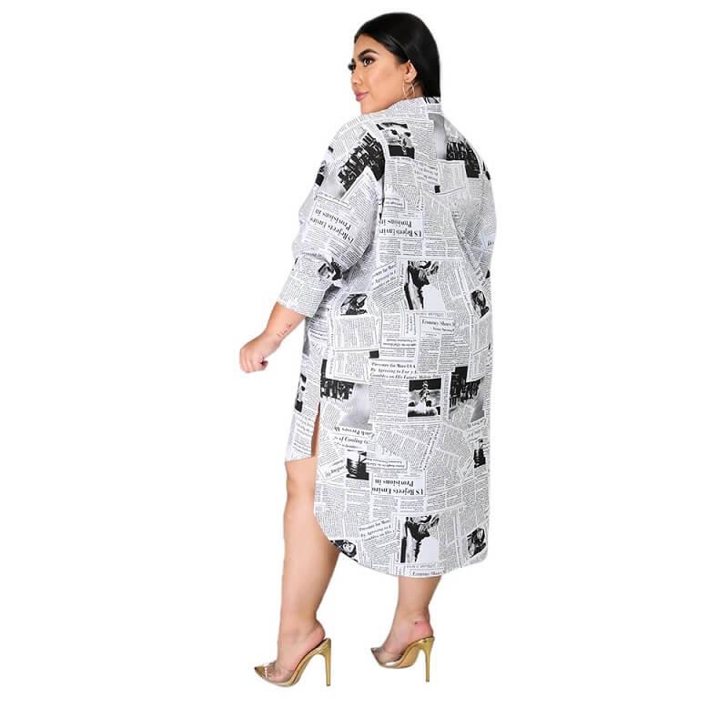 Plus Size Formal Dresses Cheap - white side