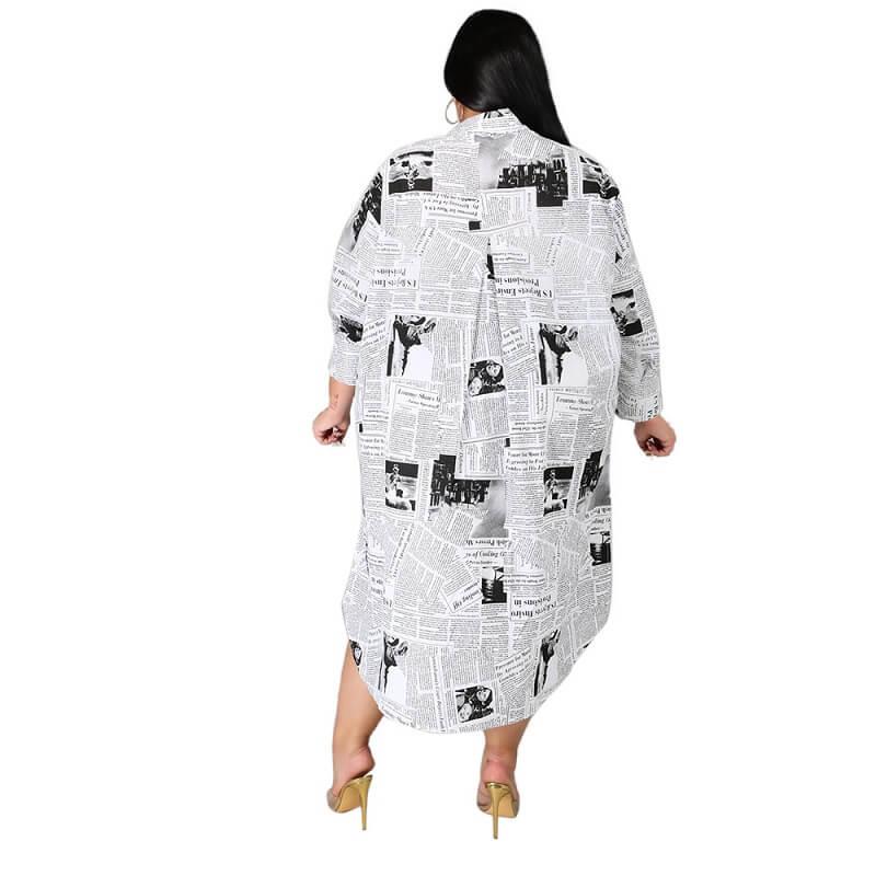Plus Size Formal Dresses Cheap - white back