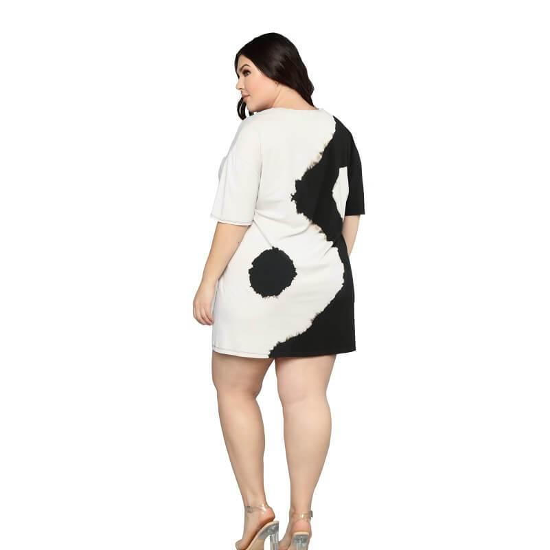 Black And White Dresses - black behind