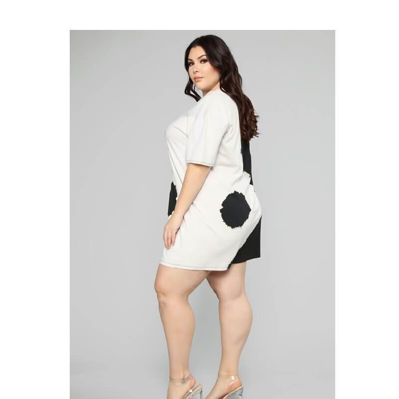 Black And White Dresses - black left