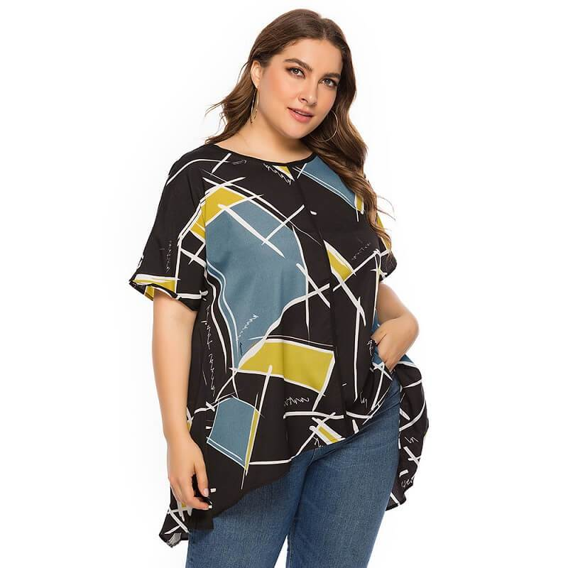 Friends T Shirt Plus Size - yellow color