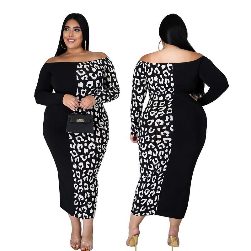Plus Size Evening Dresses - black  colors