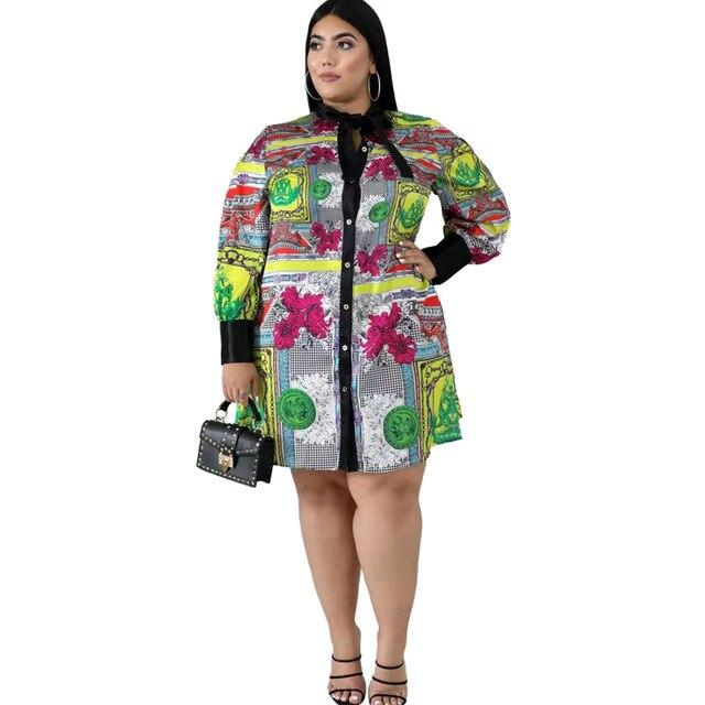 Plus Size Mother Dresses Under 100- multi main picture