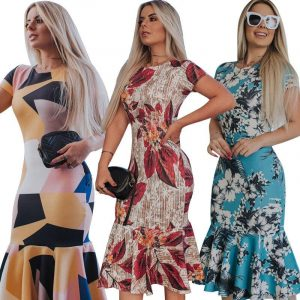 Patterned Maxi Dress - Wholesale Maxi Dress | Chic Lover