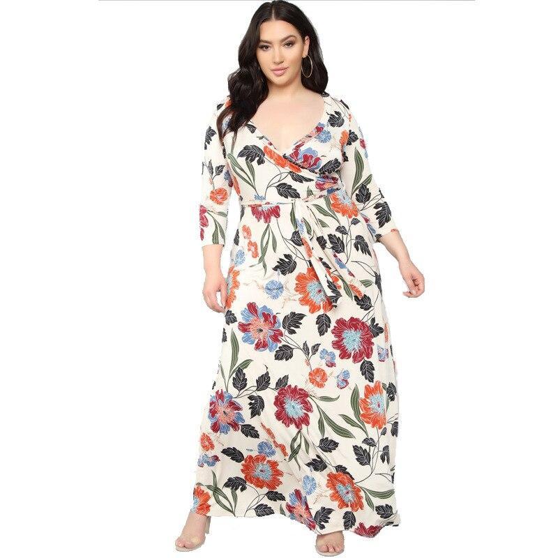 Lavender Plus Size Dress - beigre positive