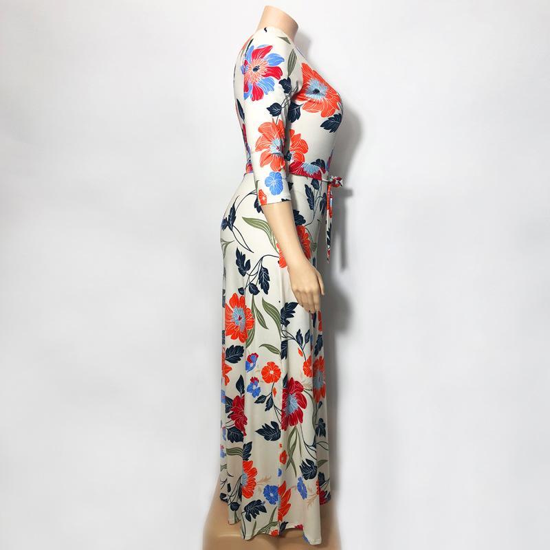 Lavender Plus Size Dress - beigre right