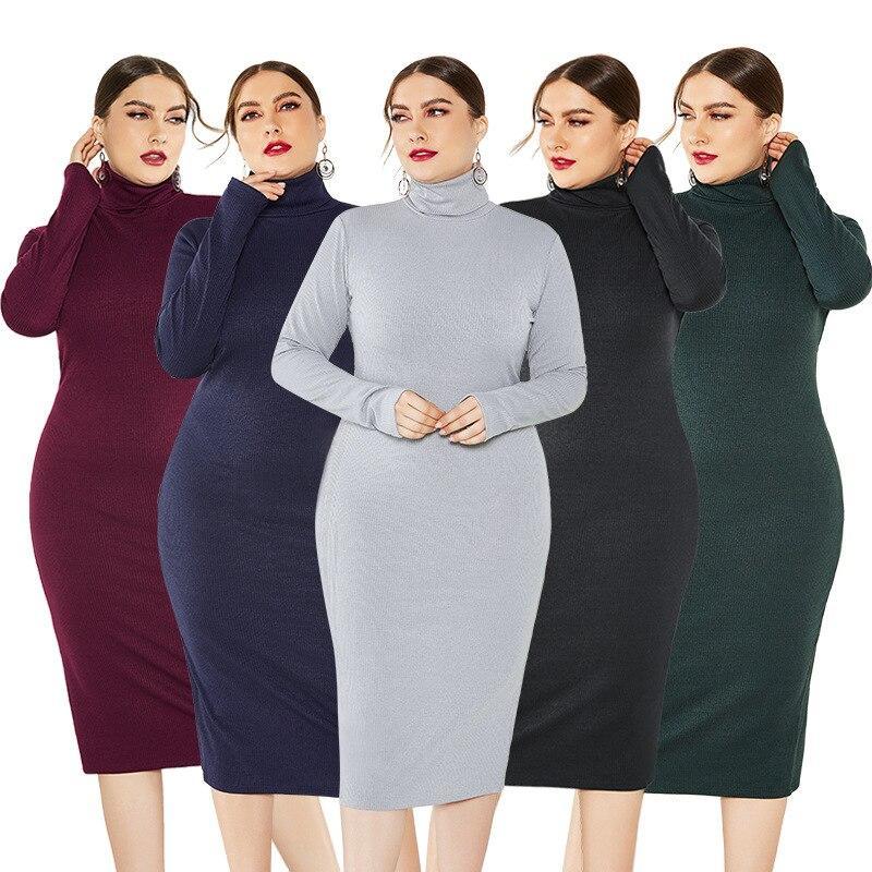 Grey Plus Size Dress - main picture