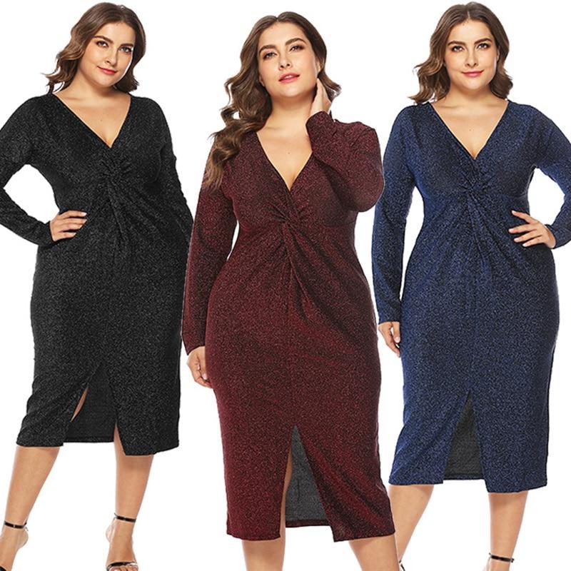 Unique Plus Size Prom Dresses - three colors