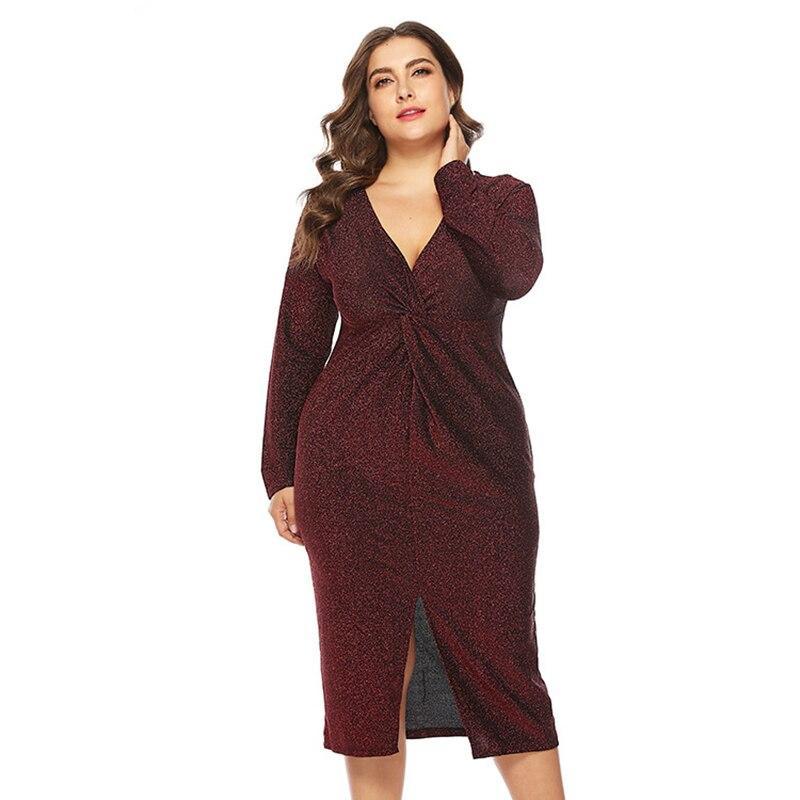 Unique Plus Size Prom Dresses - red color