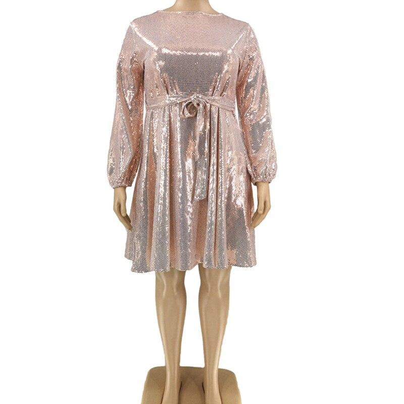 Plus Size Special Occasion Dresses - pink model picture