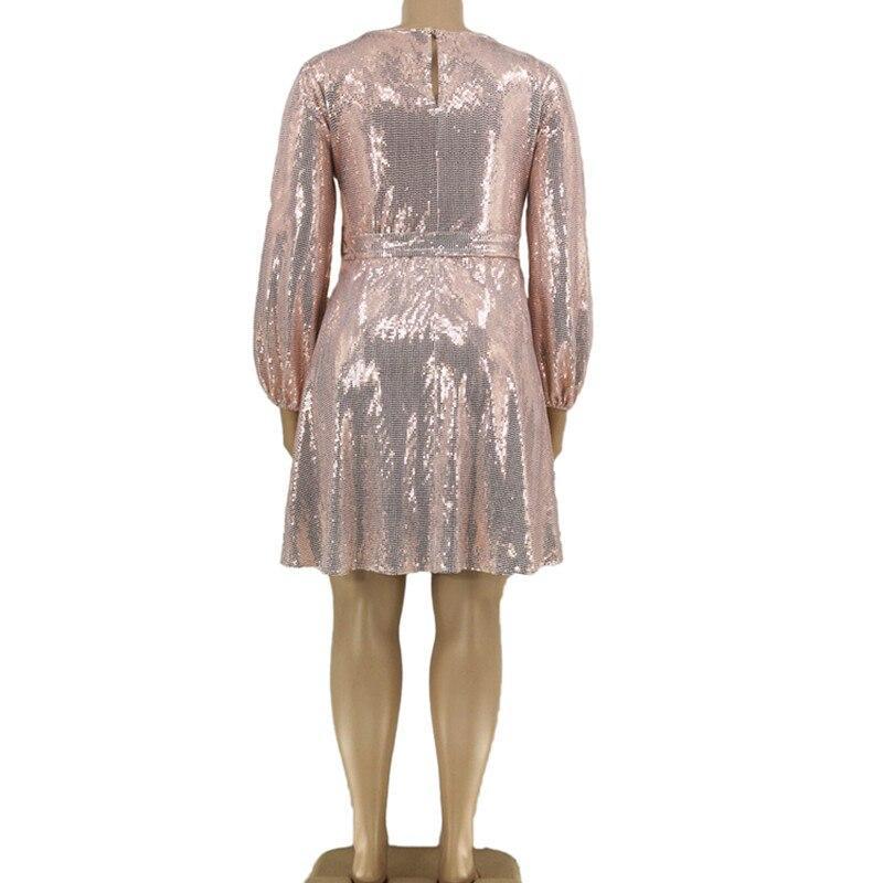 Plus Size Special Occasion Dresses - pink color