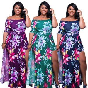 Plus Size Romper Dress - three colors