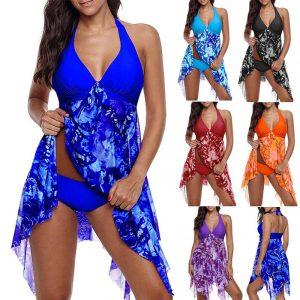 Light Blue Plus Size Dress - main picture