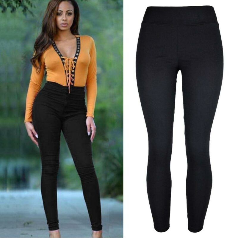 Plus Size Pencil Pants Trousers - main picture