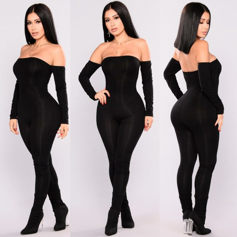 Strapless Jumpsuit - main picture