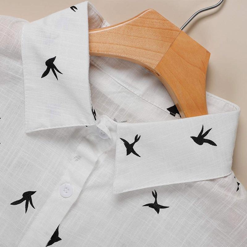 White Wrap Blouse Plus Size - detail image