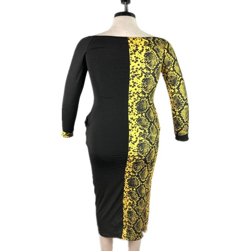 Plus Size Formal Dresses Under 100 - yellow model picture