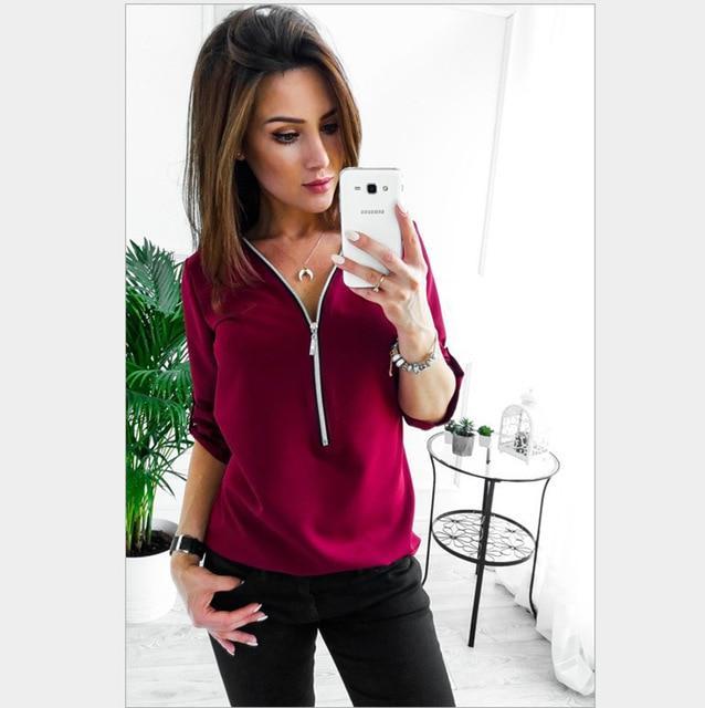 Plus Size Pink T Shirt - burgundy color