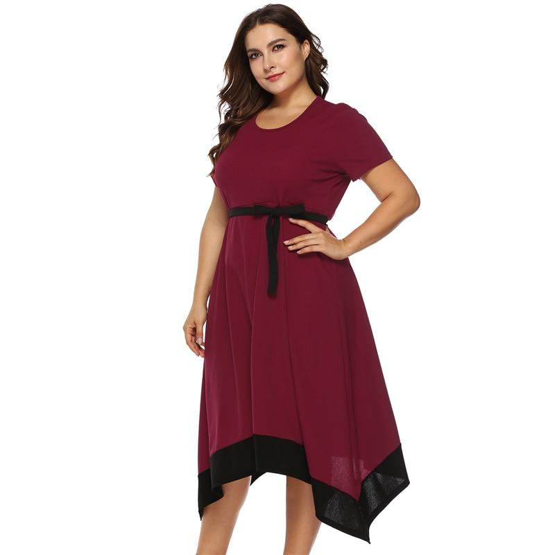 Plus Size Formal Dresses For Weddings -  red positive