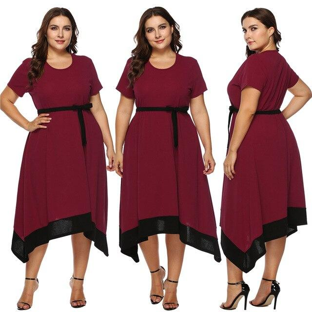Plus Size Formal Dresses For Weddings -  red main picture