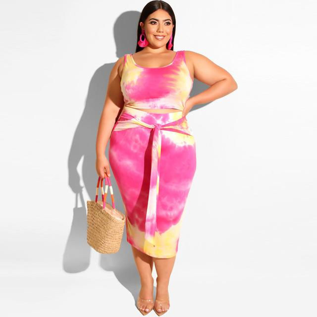 Plus Size Prairie Chic Style Outfits - pink color