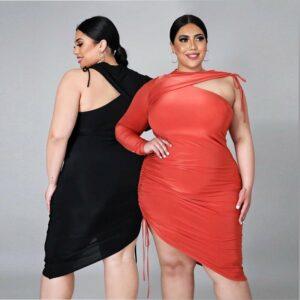 Plus Wrap Dress – Wholesale Plus Size Sexy Dresses (1)